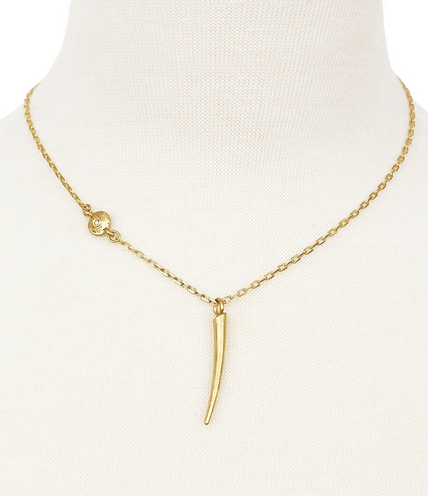 Vince Camuto Moroccan Mirage Horn Pendant Necklace