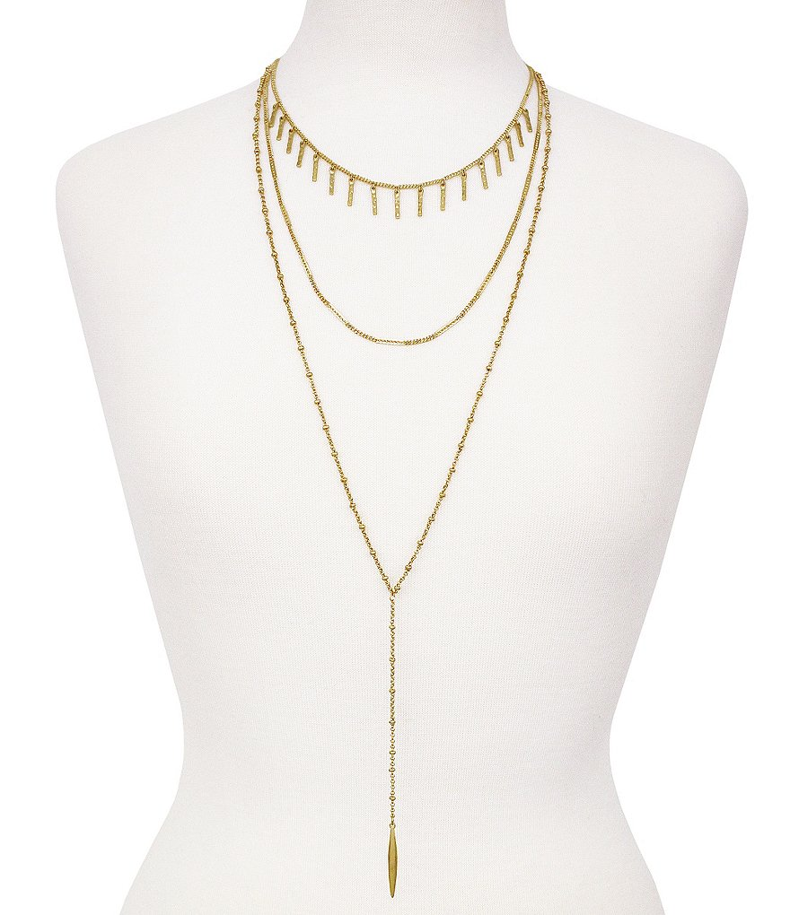 Vince Camuto Multi-Strand Y-Necklace