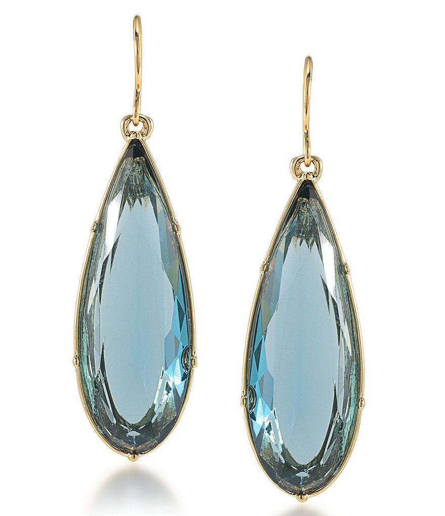 Carolee Gramercy Park Pear Drop Earrings
