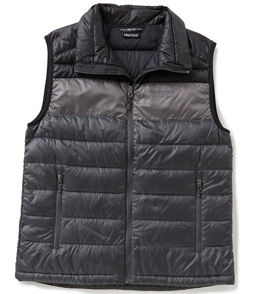 Marmot Ares Color Block Mini-Ripstop Down-Insulated Vest