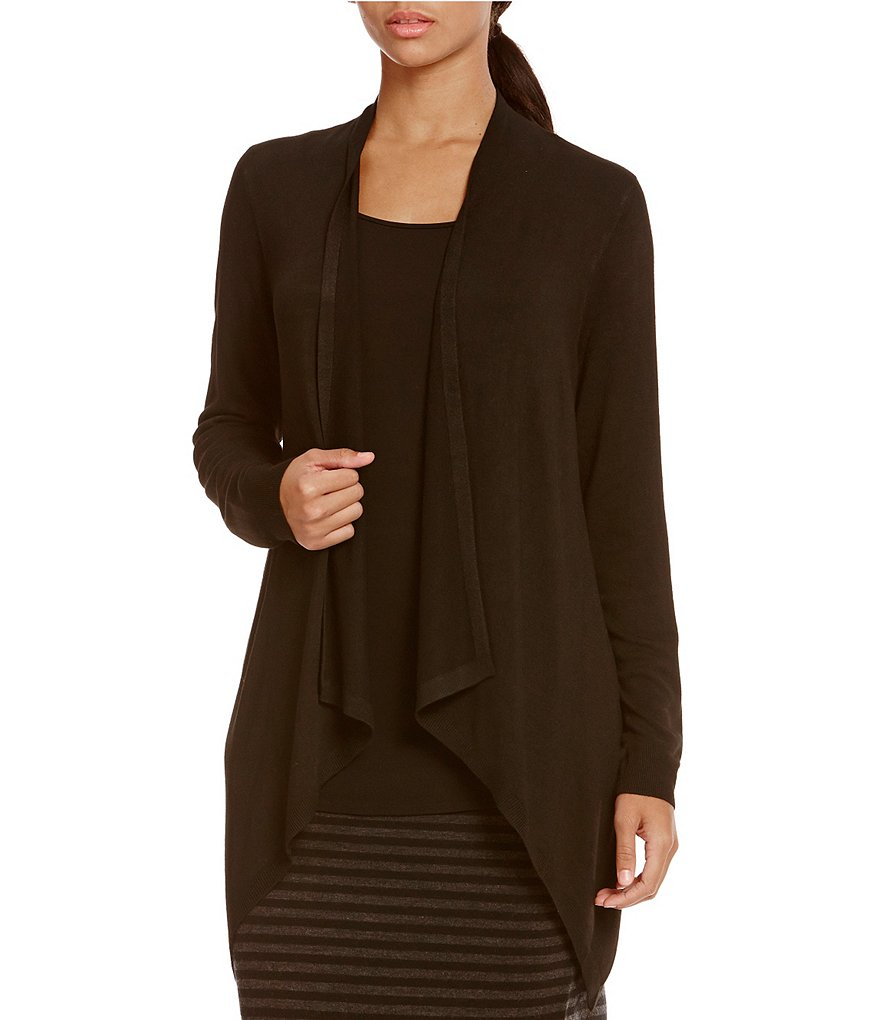 Eileen Fisher Drape Front Cardigan