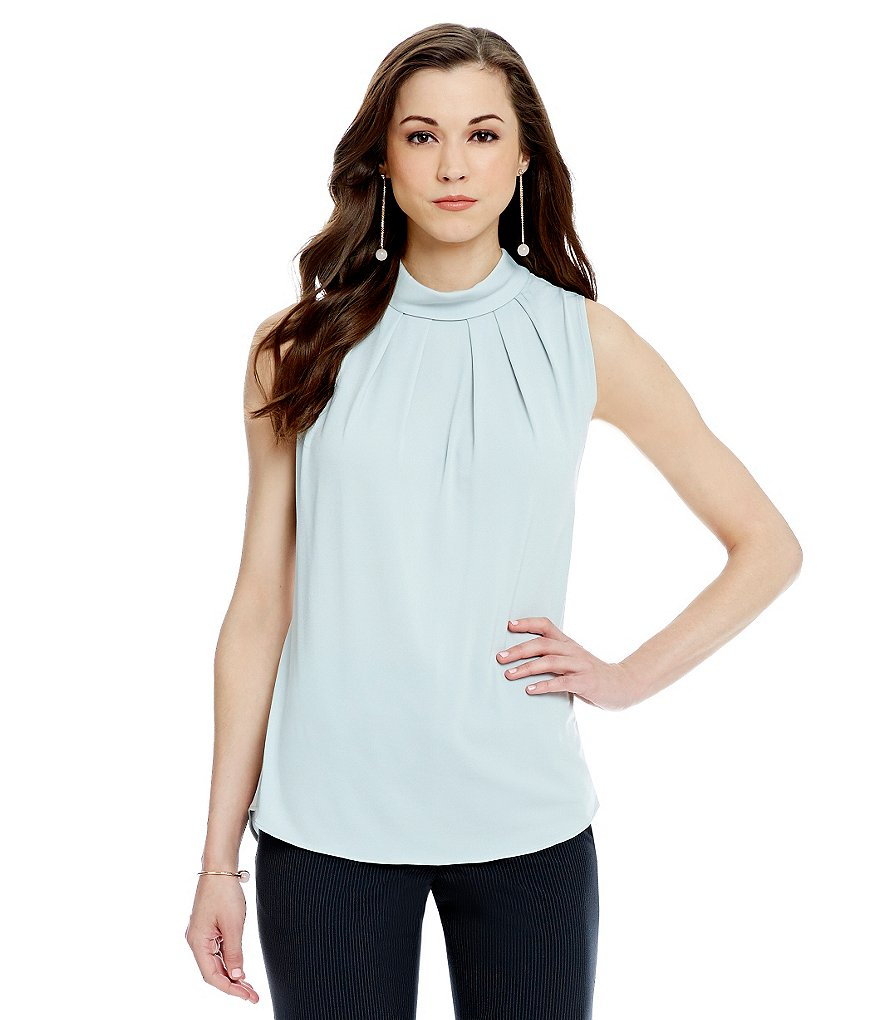 Antonio Melani Connela Knit Pleat Top