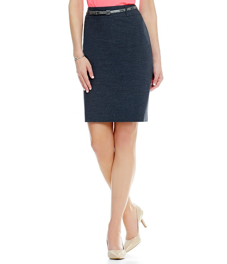 Antonio Melani Chase Twill Pencil Skirt
