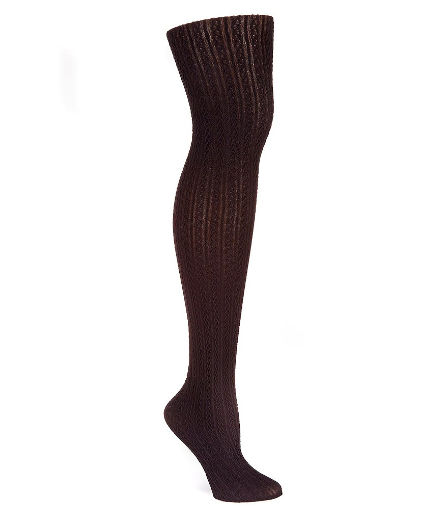 HUE Control Top Cable Tights