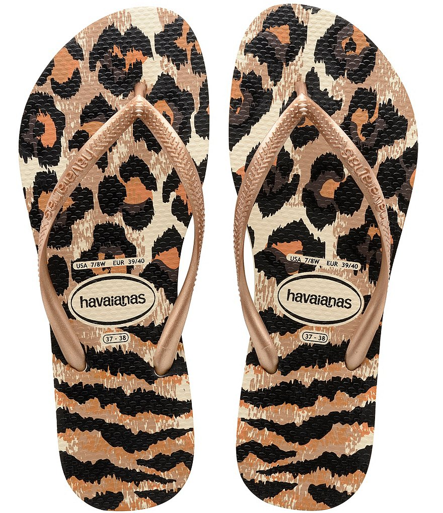 Havaianas Slim Animal Flip Flop Sandals