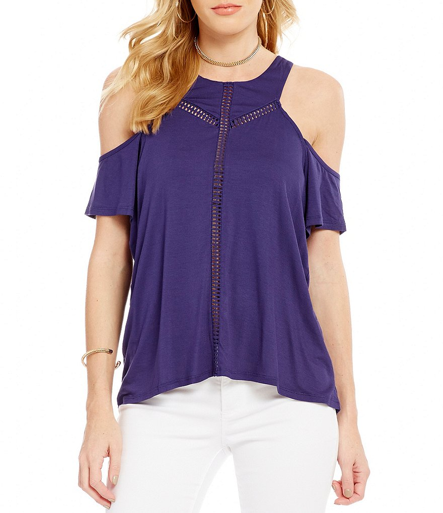 Jessica Simpson Primrose Cold Shoulder Top