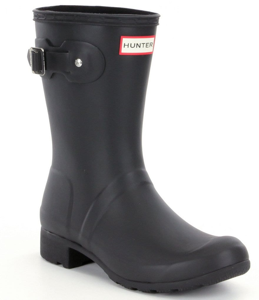 Hunter Original Tour Matte Short Rain Boots