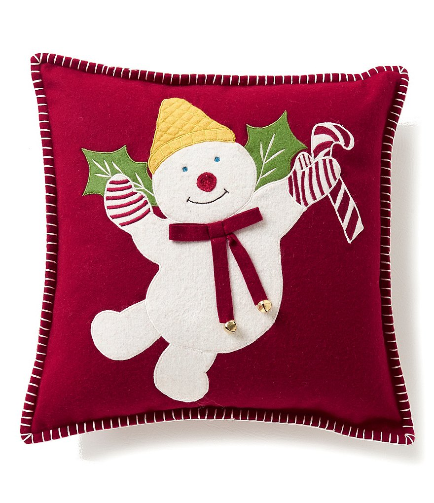 Noble Excellence Mr. Bingle Embroidered Pillow