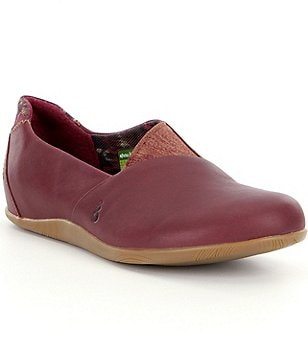 Ahnu Tola Waterproof Leather Slip Ons