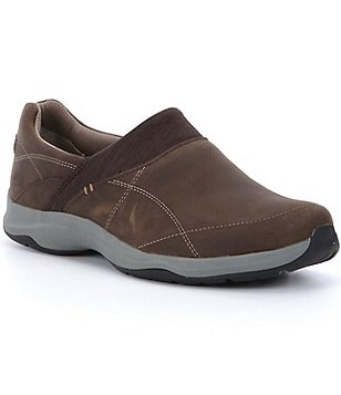 Ahnu Taraval Waterproof Nubuck Neoprene Lycra Slip On Clogs