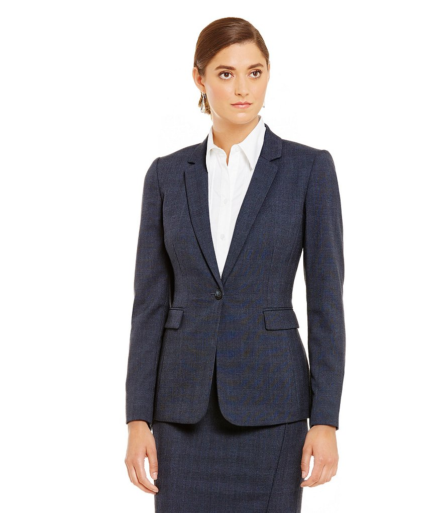 Antonio Melani Katrin Plaid Jacket