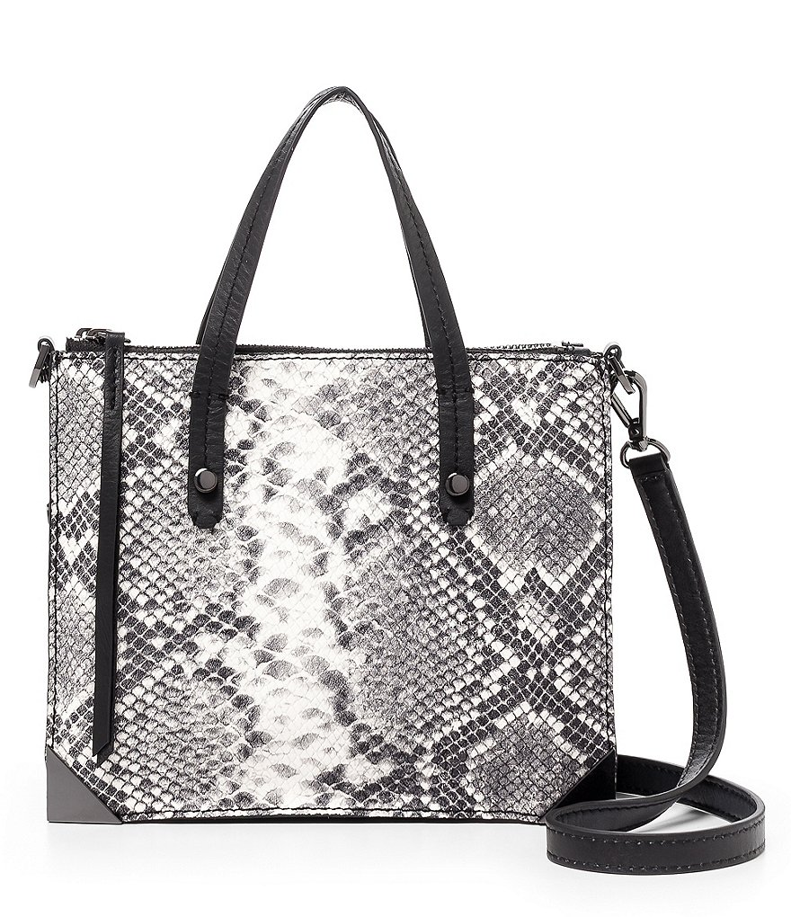 Botkier Jane Snake-Embossed Mini Tote