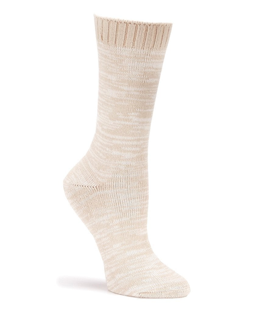 HUE Space-Dyed Boot Socks