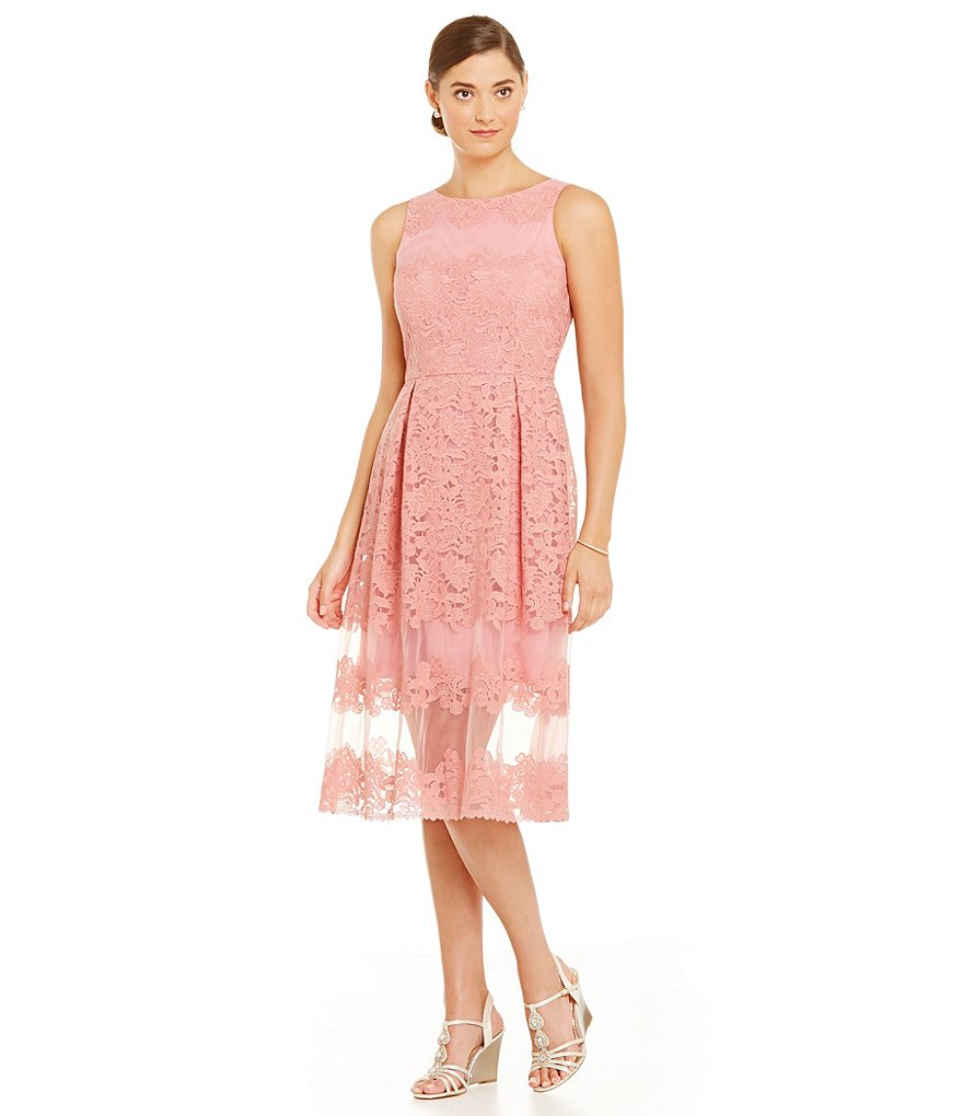 Katherine Kelly Penelope Embroidered Organza Dress