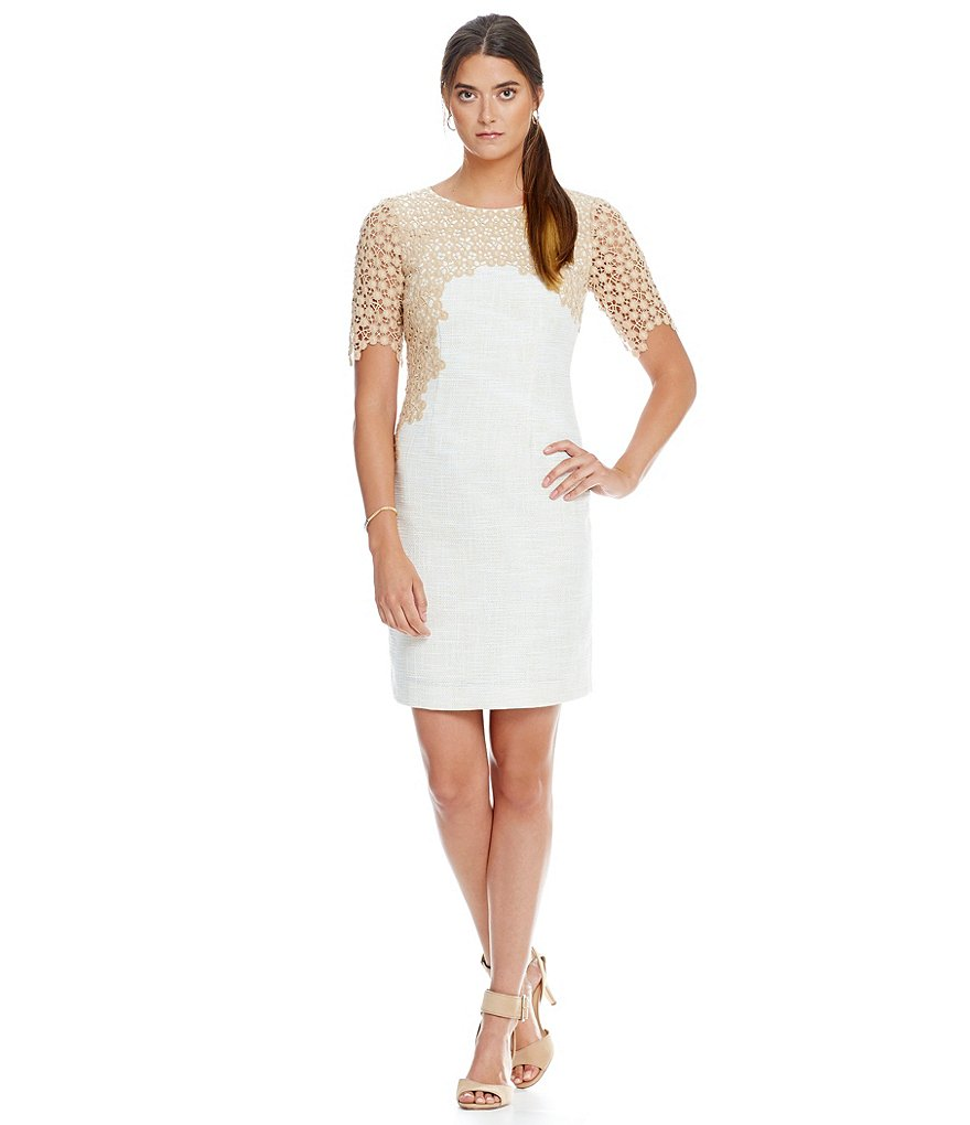Antonio Melani Rosie Tweed Sheath Dress