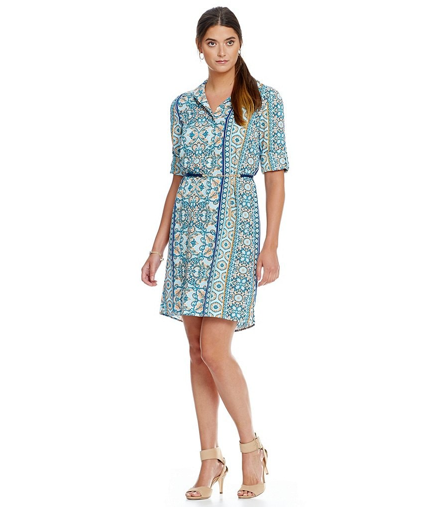Antonio Melani Kate Printed Shirt Dress