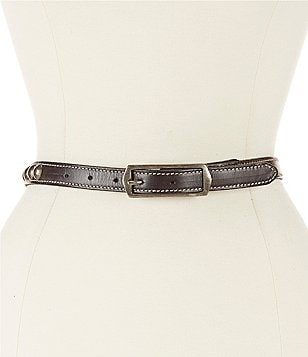 Bed Stu Tammy Studded Leather Belt