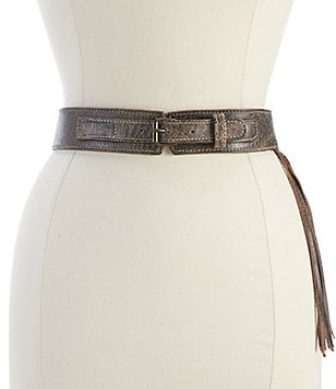Bed Stu Whist Fringed Belt