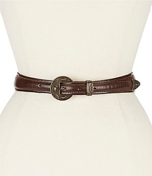 Bed Stu Spur Disc-Buckle Belt
