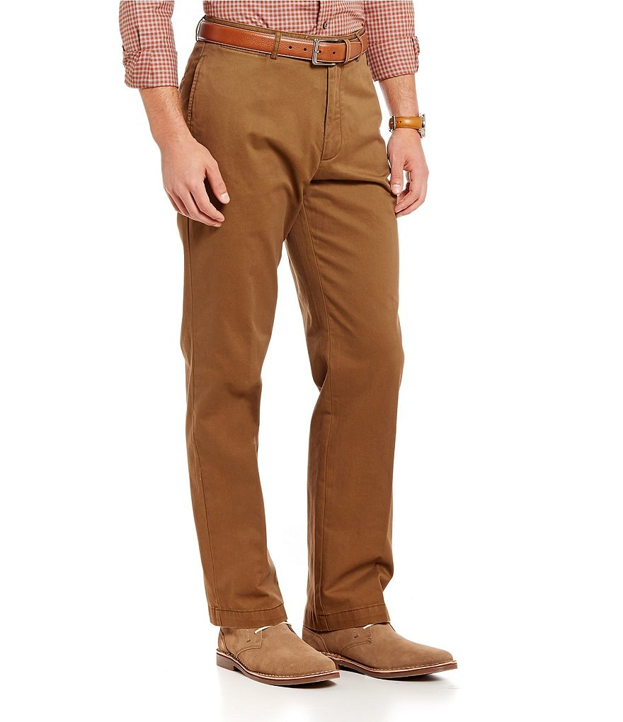 Cremieux Norfolk 5-Pocket Flat-Front Pants