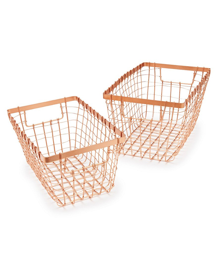 Southern Living 2-Piece Vegetable Basket Set
