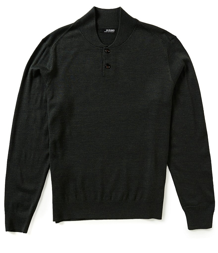 Murano Performance Henley Sweater