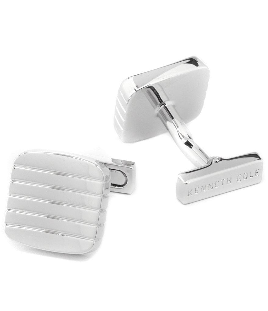 Kenneth Cole New York Wave Line Cuff Links
