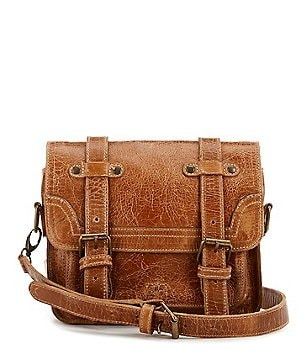 Bed Stu Tiffany Double-Buckle Messenger Bag