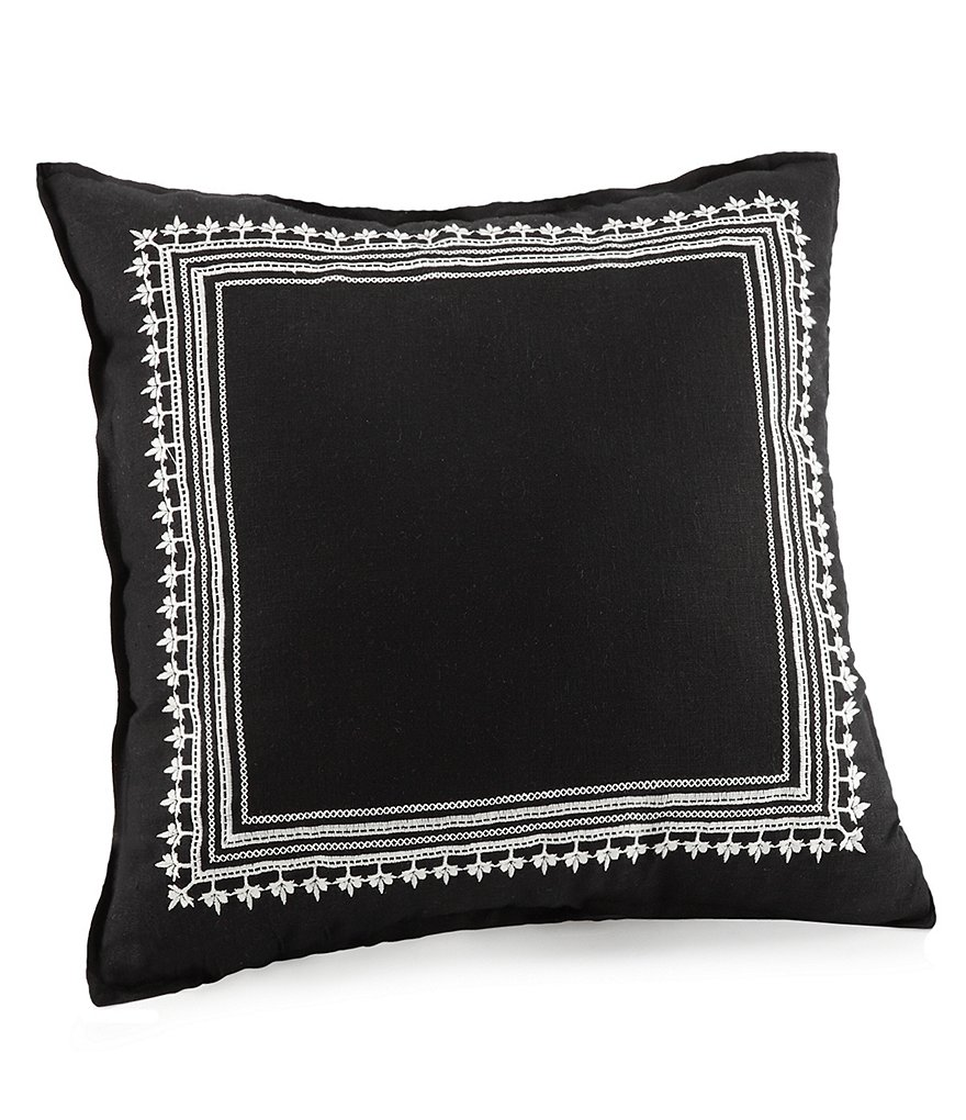 Jessica Simpson Asana Embroidered Square Pillow