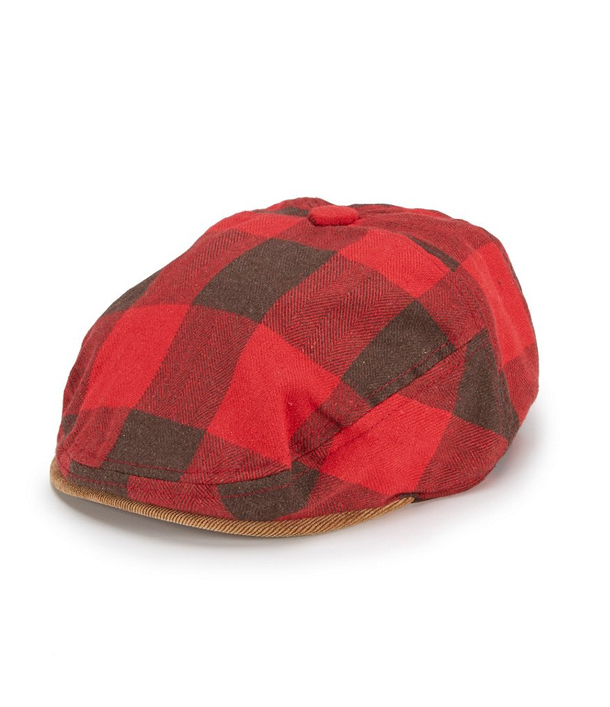Cremieux Buffalo Check Driver Hat