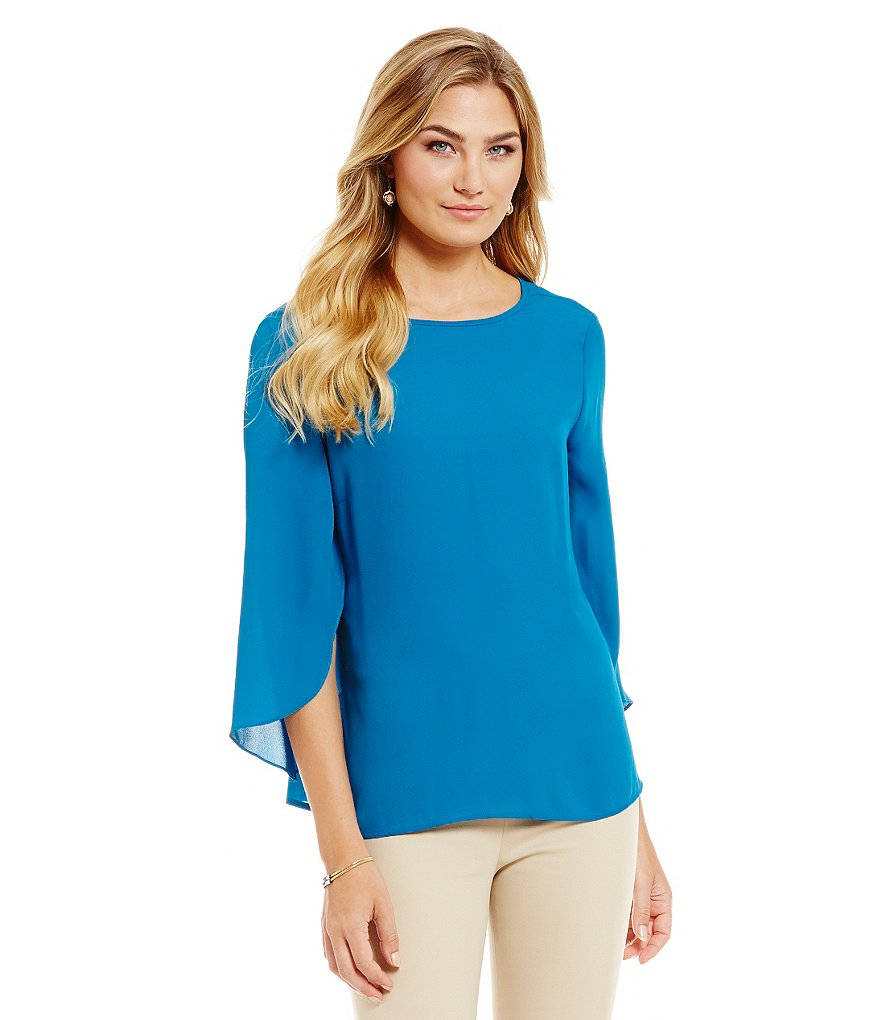 Preston & York 3/4 Sleeve Fallon Blouse