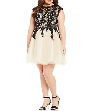 Juniors Plus Size Prom Amp Formal Dresses Dillards
