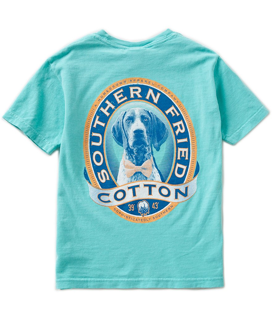 Southern Fried Cotton Big Boys 8-20 Winston II Short-Sleeve Tee