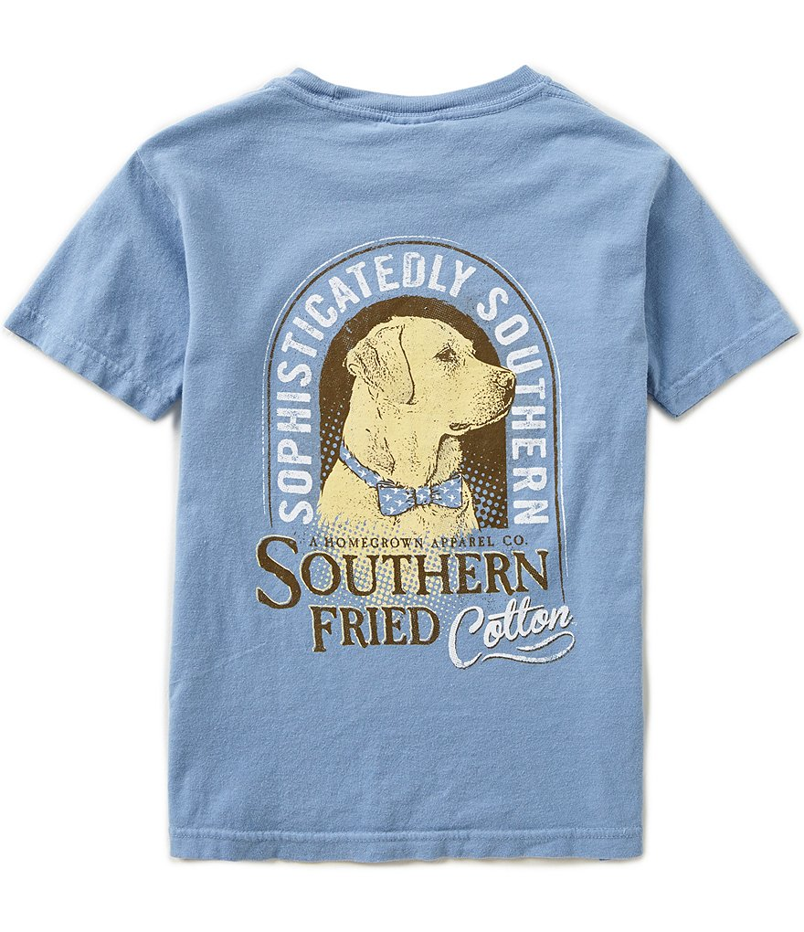 Southern Fried Cotton Big Boys 8-20 Preppy Boy Short-Sleeve Tee