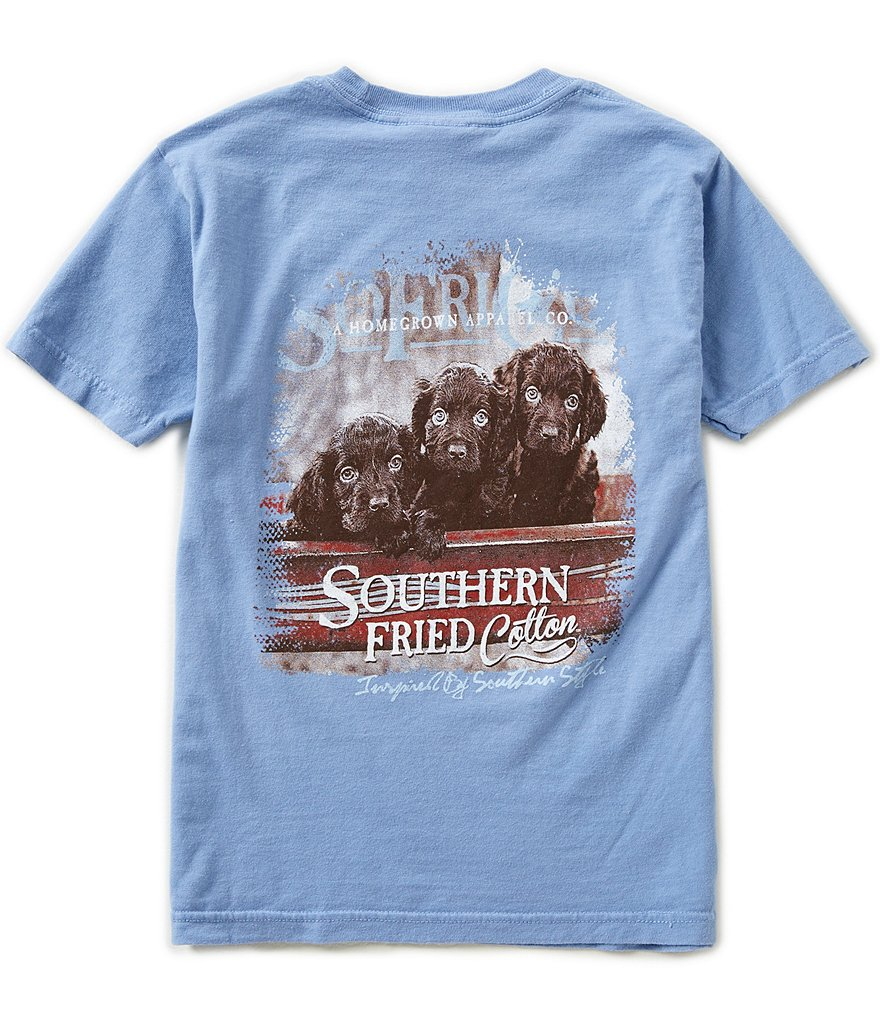 Southern Fried Cotton Big Boys 8-20 Lil' Rascals Short-Sleeve Tee