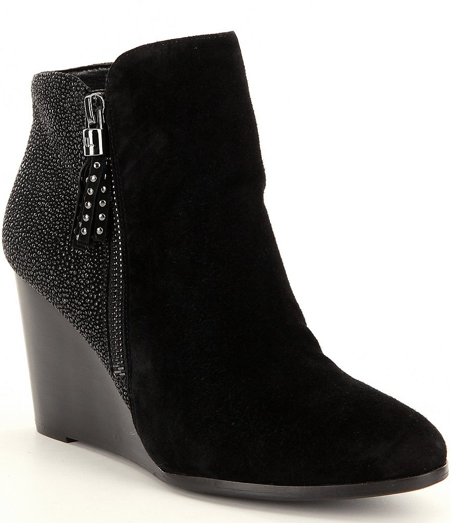 Karl Lagerfeld Paris Julita Wedge Booties