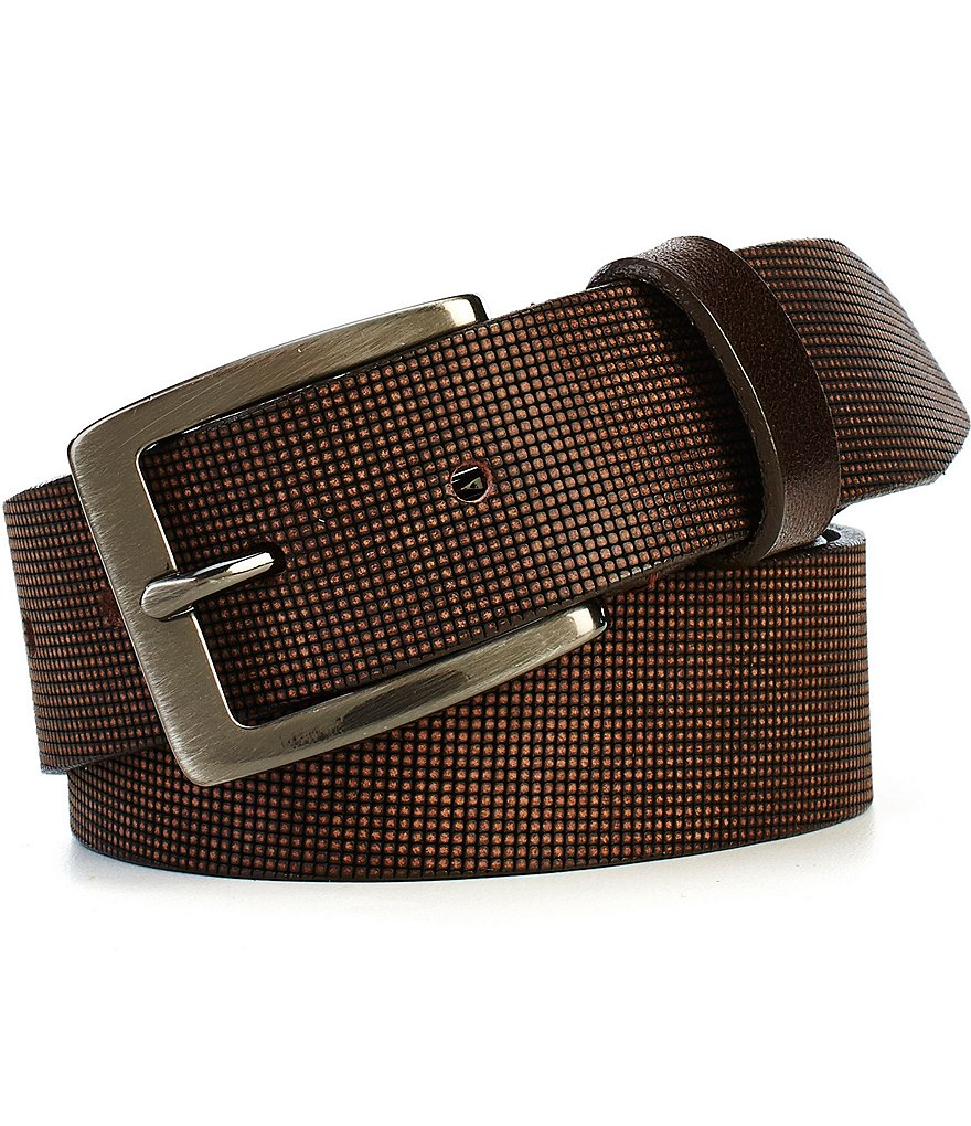 Johnston & Murphy Men´s Perfed Casual Belt