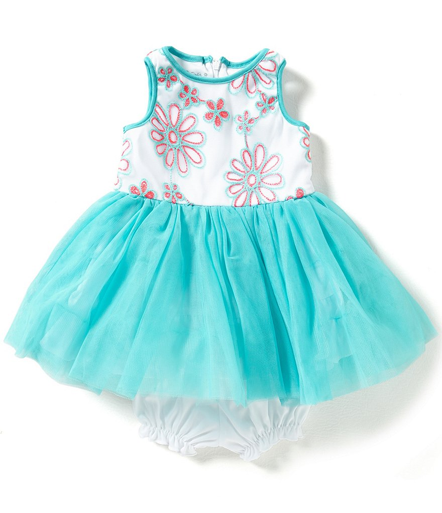 Pippa & Julie Baby Girls 12-24 Months Embroidered-Bodice Ballerina Dress