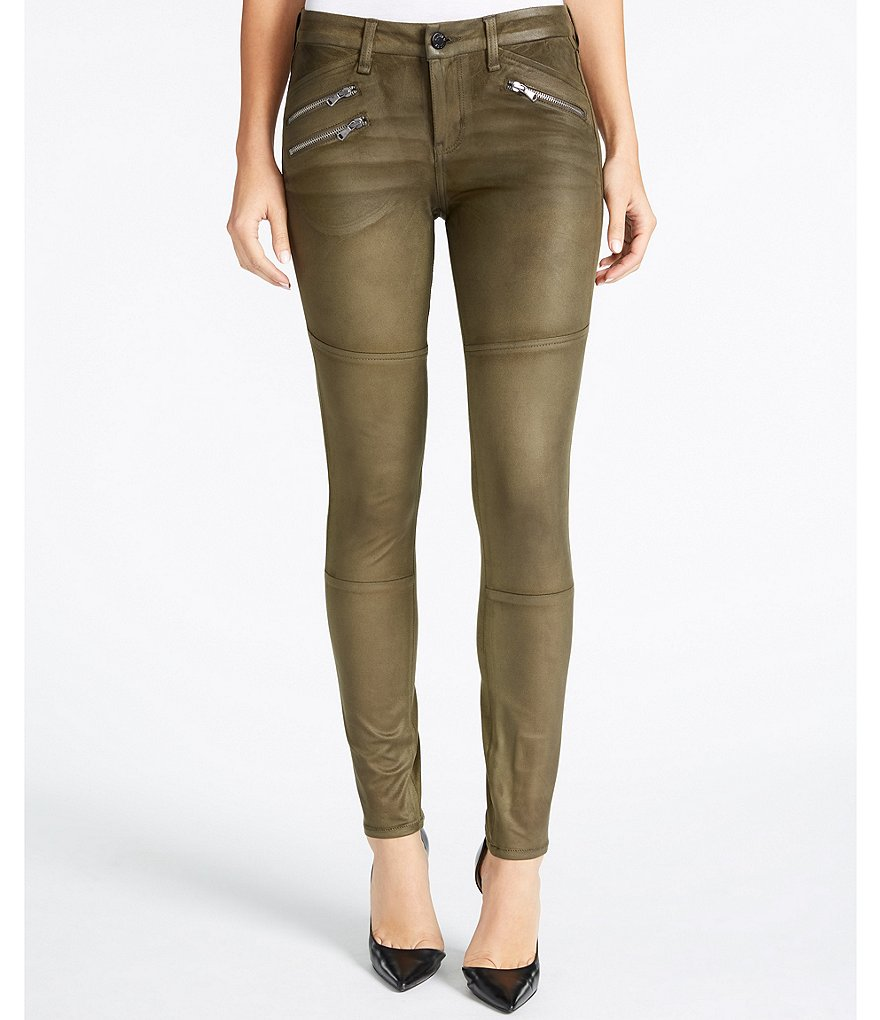 William Rast The Moto Ultrasuede Pants