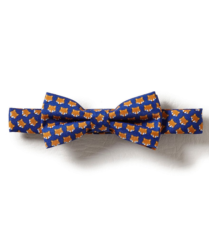 Starting Out Baby Boys Fox Print Bow Tie