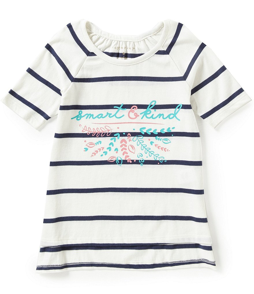 Copper Key Little Girls 2T-6X Smart and Kind Top