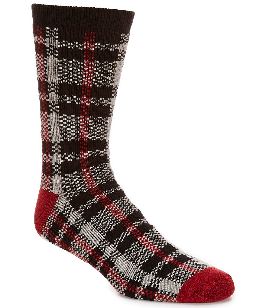 UGG® Plaid Jacquard Crew Socks
