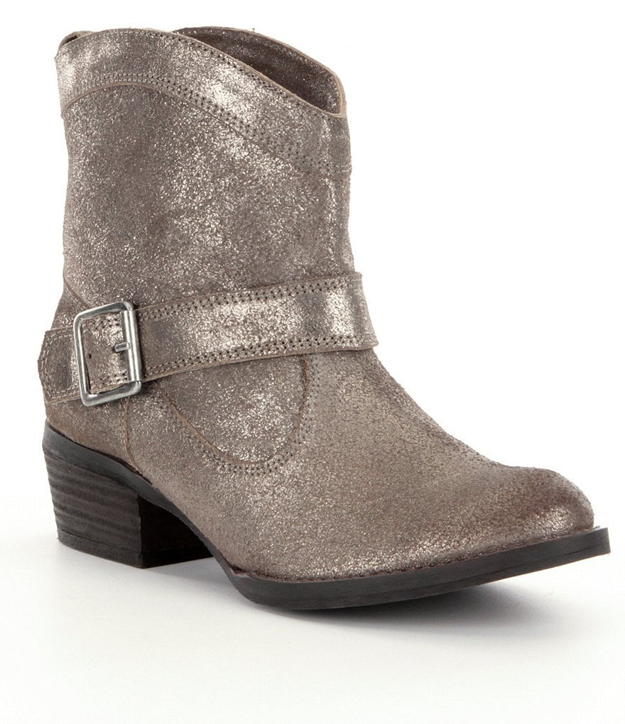 Naughty Monkey Metalicah Booties