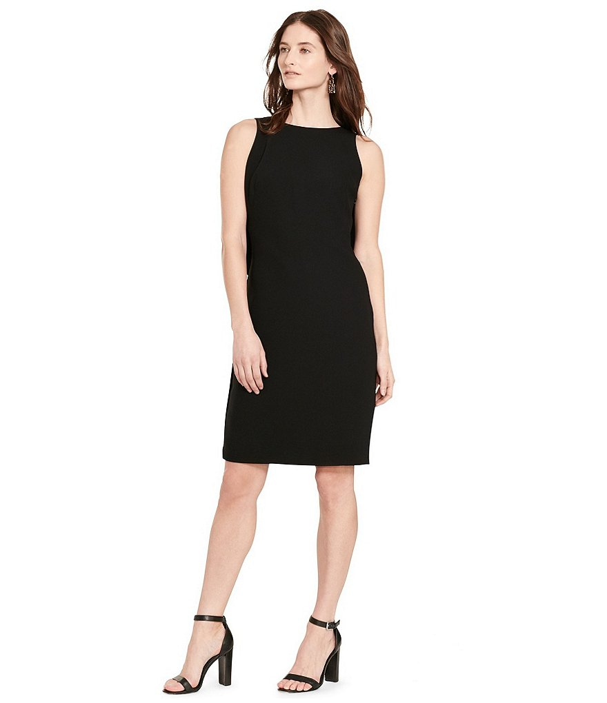 Lauren Ralph Lauren Ruffle Back Sheath Dress