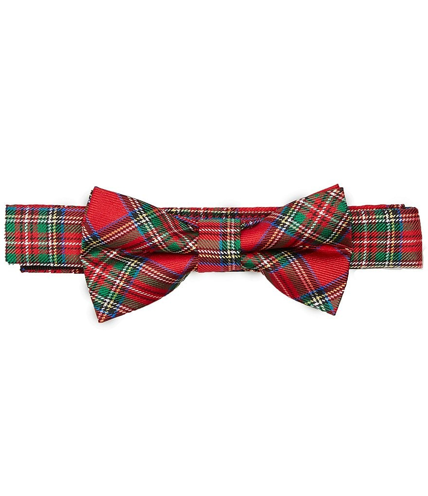 Starting Out Baby Boys Tartan Plaid Bowtie