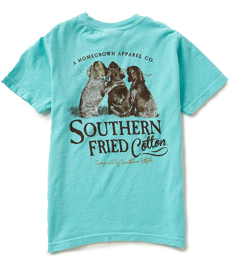 Southern Fried Cotton Big Boys 8-20 Best Friends Short-Sleeve Tee