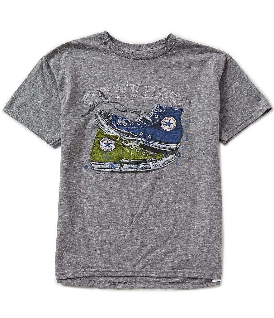 Converse Big Boys 8-20 Mix Match Chucks Short-Sleeve Tee