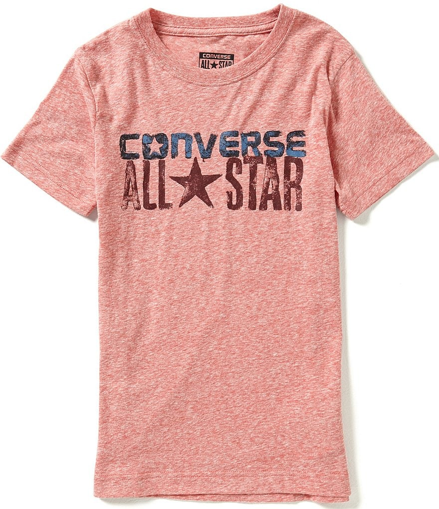 Converse Big Boys 8-20 Wordmark Short-Sleeve Tee