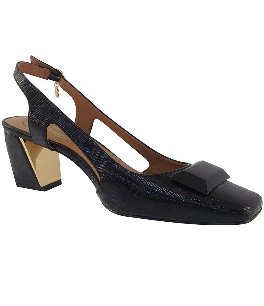 J. Renee Samina Slingback Pumps