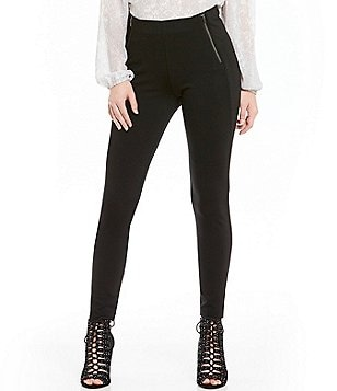 Jessica Simpson Sandra Zip Ponte Leggings